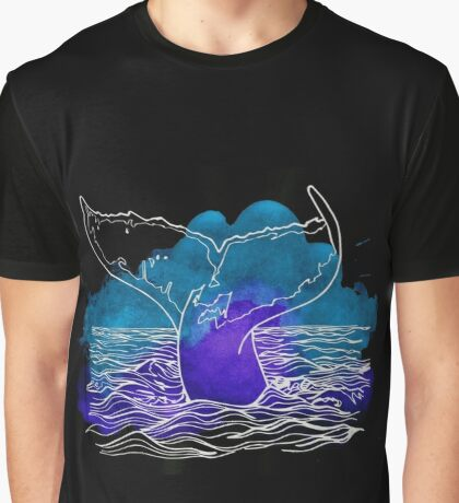 Whale Tail  Graphic T-Shirt