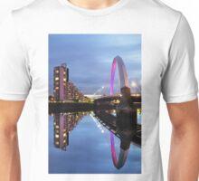 Glasgow Clyde Arc Bridge Reflections Unisex T-Shirt