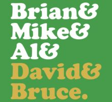 Brian & Mike & Al & David & Bruce. Kids Clothes