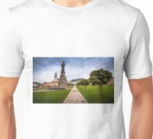 View of the Central Square Stefanikovo Namestie of Kremnica Unisex T-Shirt