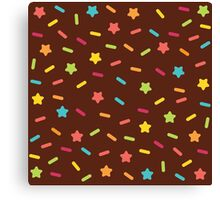 Choclate and Sprinkles  Canvas Print