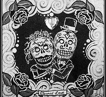 Eternal Love Skelly Couple by MyrcurysToybox