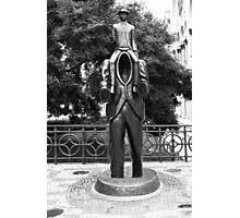 Franz Kafka Statue Photographic Print