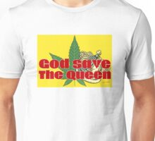 God Save The Queen - Weed Clothing and Gifts Design Unisex T-Shirt
