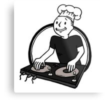 The BeatChef Metal Print