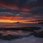 Sunrise at the Bay. by Warren  Patten
