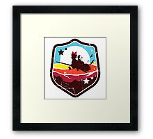 DELIVERY WITCH Framed Print