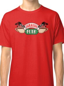 Jurassic Park x Central Perk - Jurassic World/FRIENDS parody Classic T-Shirt