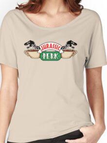 Jurassic Park x Central Perk - Jurassic World/FRIENDS parody Women's Relaxed Fit T-Shirt