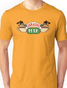 Jurassic Park x Central Perk - Jurassic World/FRIENDS parody Unisex T-Shirt