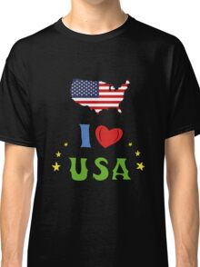 I love the united states of america Classic T-Shirt