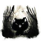 Cat in the darkness von yummymachine