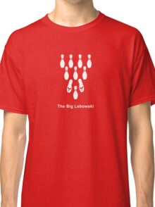 Flip-flop Bowling (white) Classic T-Shirt