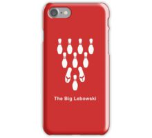 Flip-flop Bowling (white) iPhone Case/Skin