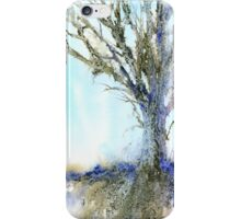 Study in Blue iPhone Case/Skin