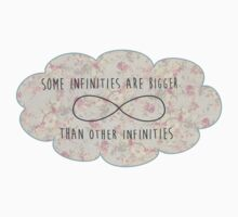 Some Infinities Are Bigger Than Other Infinites Floral Cloud Kids Clothes