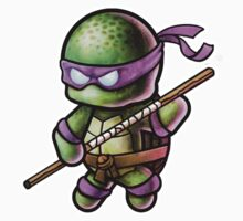 """TMNT -""""Donnie"""" POOTERBELLY Baby Tee"""