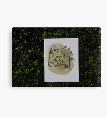 Blind Genius Dude by KukiWho & Sub Canvas Print