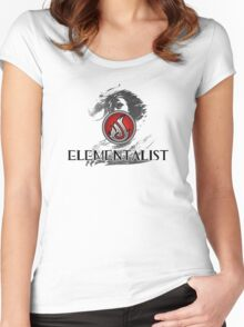 Elementalist - Guild Wars 2 Women's Fitted Scoop T-Shirt