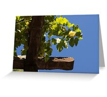Harvest in the Sky Greeting Card
