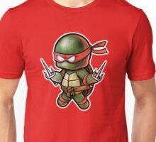 "TMNT -""Raph"" POOTERBELLY - DIE CUT Unisex T-Shirt"