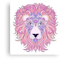 head of lion Canvas Print