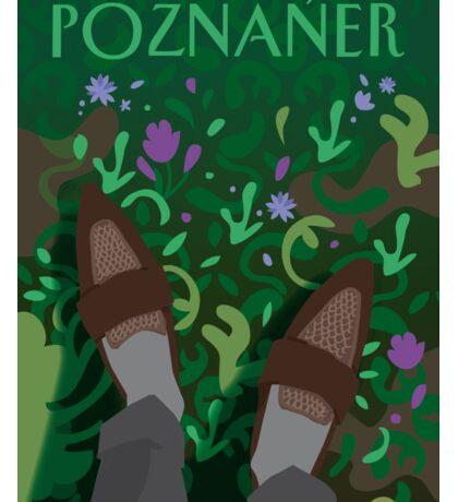 The Poznaner in Green Sticker