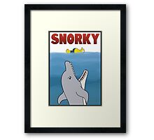 Snorky (Jaws) Framed Print