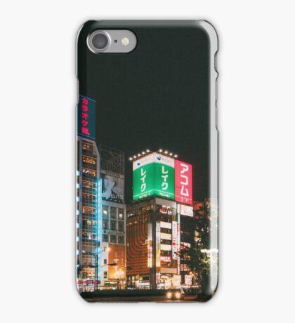 Tokyo Shinjyuku by night iPhone Case/Skin