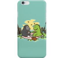Let's have a picnic iPhone Case/Skin