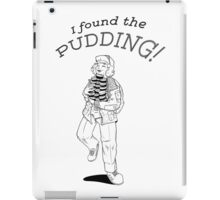i found the pudding! iPad Case/Skin