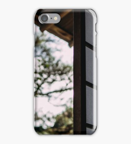 """From the """"chashitsu"""" iPhone Case/Skin"""
