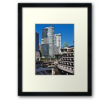 Vancouver City, Canada Place, Canada, 2012. Framed Print