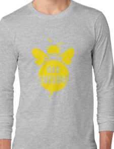 Bee A Awesome Cool Bee Graphic Typo Design Long Sleeve T-Shirt