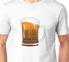 Funny Cool Flirting Pick Up Drunk Joking Design Unisex T-Shirt