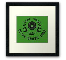 Sheffield T-Shirt - Olive Grove 1887 Framed Print