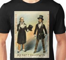 Mr Nat C Goodwin as Caraway Bones Esq - HA Thomas and Wylie Litho - 1890 Unisex T-Shirt