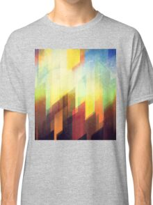 Minimalist Colorful Urban design Classic T-Shirt