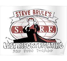 Steve Brule's Last Resort Fighting Poster