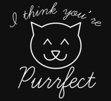 I Think You're Purrfect by DesignFactoryD