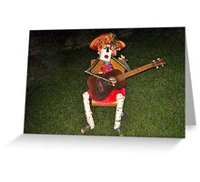 FUNNY HUMEROUS HOME MADE STATUES SERIES THREE PICTURE AND OR CARD Greeting Card