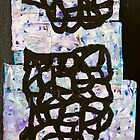 vessel with lid collage by donnamalone
