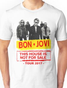 ttoy06 Bon Jovi This House Is Not For Sale Tour 2016 Unisex T-Shirt