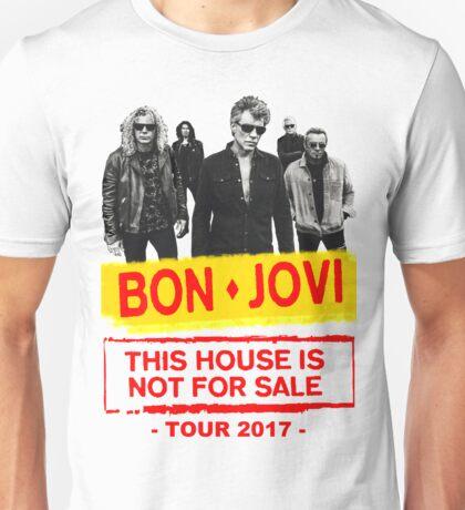 ttoy06 Bon Jovi This House Is Not For Sale Tour 2016 Unisex T-Shirt
