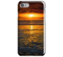 unreal sunset from beal beach iPhone Case/Skin