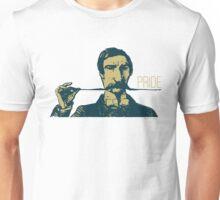 Vintage Hipster Long Mustache Pride  Unisex T-Shirt