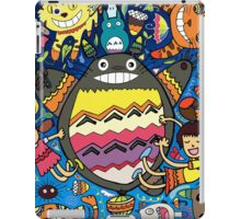 Totoro Madness Catbus Meownificent Awesomeness iPad Case/Skin