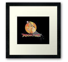 Dragons Lair - Dirk & Daphne Framed Print