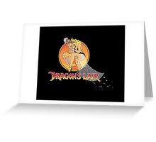 Dragons Lair - Dirk & Daphne Greeting Card