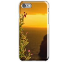virgin rock and wild flowers sunset iPhone Case/Skin